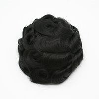 Full Skin Base Human Remy Hair Prosthesis Men Hairpiece Toupee