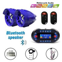 12V 3 Inch Radio Audio Motorcycle Car ATV UTV Golf Cart Waterproof Anti-theft Bluetooth Speaker USB TF U Disk FM Stereo System