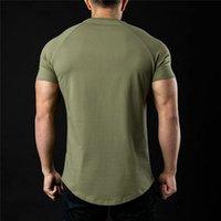 314 Männer Frühling Sporting Top Trikots T Shirts Sommer Kurzarm Fitness T-Shirt Baumwolle Herren Kleidung Sport T-Shirt