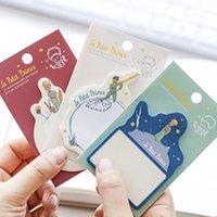 30 장 작은 왕자 메모 패드 종이 스티커 메모 플래너 스티커 붙여 넣기 카와이 편지지 Papeleria 사무실 용품
