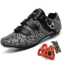 Cycling Footwear Shoes For Men Women Luminous Road Riding Peloton Breathable Cleat Compatible SPD Look Delta Bicycle
