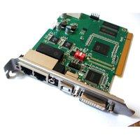 System sterowania wyświetlaniem, Linsn TS802D Kartka wysyłająca, pełny kolor P3 P4 P5 P6 P7.62 P10 Moduł modułu LED