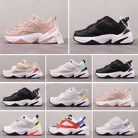 sale M2k Tekno Zoom 2K sport sneakers for Kids shoes triple blakc cremay white grey Race Red Mens outdoor Trainers wisdonm