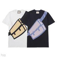 Verão Mens Designer T Camiseta Casuais Homens Loose Marca T-shirt com letras Imprima mangas curtas Top Venda Luxo Camisas Tamanho S-3XL FF