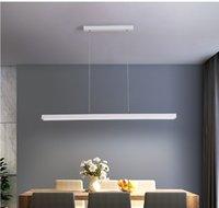 Nordic restaurant chandelier modern minimalist dining table light pastoral cafe bar minimalist long dining room lighting