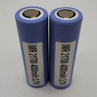 100% высочайшее качество Samsung 21700 аккумулятор 4000 мАч 3.7 В 40А 18650 батареи для перезаряжаемой литиевой батареи