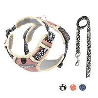 Dog Collars & Leashes Pet Chest Strap Traction Rope Vest-style Large Carrying Small And Medium Chain Supplies.
