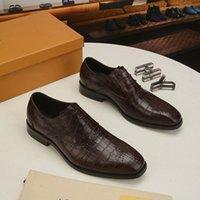 LUJO NUEVO H MENSULLES DE HENOS París Gommino de cuero genuino Deslice en Walk Body Business Drive Dress Classics Shoes Tamaño 38-45