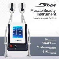 قوة العضلات تشكيل EMS النحت الكهربائية آلة اللياقة البدنية جهاز emslimming