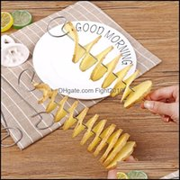 Fruit Kitchen, Dining Bar Home & Gardenspiral Potato Cutters 1 Set Cucumber Slicer Tools Kitchen Aessories Vegetable Factory Price Expert De