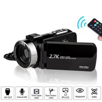 Camcorder 2.7K Ultra HD 30MP Video Camera for YouTube Live Streaming 16X Digital Zoom IR Night Touch Screen Photography Cam
