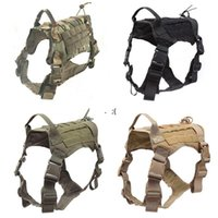 Dog Apparel Medium and large clothes outdoor tactical vest camouflage dogs vests tactics GWF10879
