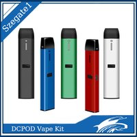 충전식 일회용 vape 펜 키트 C107 DCPOD 카트리지 빈 포드 0.5 ml 및 두꺼운 오일 기화기 VS 케이크 Disposition Delta 8 D8 장치 용 1.0ml