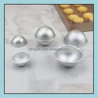 Other Toilet Supplies Bath Home & Gardeth Bomb 3D Aluminum Alloy Ball Sphere Mold Cake Baking Pastry Mod 4.7 5.7 Cm 6.7Cm Lx1460 Drop Delive