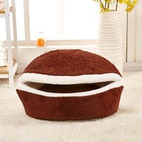 High Quality Dog Houses For Small Dogs Pet Supplies Luxurious Sleeping Bag Fabric Product Cats And Little Winter Beds Kennels & Pens
