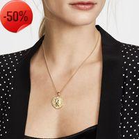 Монета римское греческое кулон ожерелье для женщин