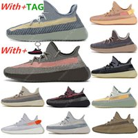 2021 Ash Blue sneakers casual shoes Pearl Stone Belgua Citrin Fade Cinder Earth Cid Zebra Yecheil Static Reflective sports mens Trainers Eur 36-47