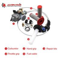 Motosiklet Yakıt Sistemi Alconstar-30mm Karbüratör PZ30B Hızlandırıcı Pompa, Kolu Sapları, Onarım Kiti, Motosiklet Dirt Bike ATV CG175 CG200 C