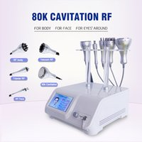 3 in 1 multi-function Ultrasonic slimming Cavitation 80k Vacuum RF Radio Frequency Liposuction cellulite removal Beauty Machine