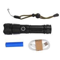 مصباح يدافع المشاعل في الهواء الطلق LED USB شحن ماء محمول