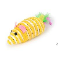 Ratos gato brinquedos bonito divertimento sisal rato gato brinquedo gato mastigar brinquedos interativos Pet corda rato brinquedo jogar brinquedo gatinho teaser brinquedos dwe6988