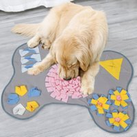 Kennels & Pens Dog Toys Pet Snuffle Mat Slow Dispensing Feeder Increase IQPet Puzzle Puppy Training Games Feeding Food Intelligence Toy