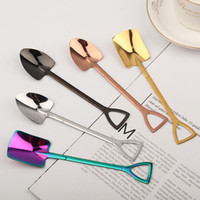 2021 Coffee Spoons Forks with Crystal Head Kitchen Fruit Dessert Ice-cream Scoop gift