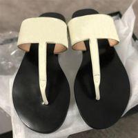 Женские модные скольжения скользкие сандалии черные коричневые кожаные кожаные сандалии для девочек женские летние пляжные приводит к причинам тапочки большой размер 36-42