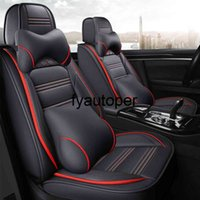 Customed Car Seat Cover Set Auto Airbag Compatible Automotive Goods For BMW Toyota Hyundai Kia Ford Mazda Golf Car Accessories