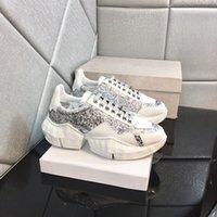 최고 품질 디자이너 신발 여성 럭셔리 캐주얼 끌어 오는 운동화 패션 통기성 흰색 스파이크 양말 상자