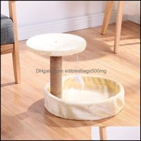 """Scratchers Pet Supplies Home & Gardenblack Friday 36"""" Cats Tree Bed Furniture Scratch Cat Tower Post Co Qyltca Bdenet 2203 V2 Drop Delivery"""