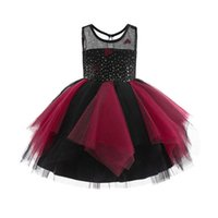 Girls Dresses 1st Birthday Dress For Baby Girl Princess Children Clothes Kids Clothing Flower Wedding Party Formal Lace Tutu Sequin B6146