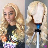 Lace Wigs Virgo 13x4 13x6 613 Honey Blonde Brazilian HD Wig Remy Hair Body Wave Glueless Front Human For Women