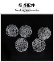 100 шт. Металлическая сетчатая мяч для курения трубы с горением, поддерживающая нержавеющая сталь Экран из нержавеющей стали.