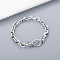 Name 316L Chain Stainless Steel Jewelry Love Bracelets Bangles Pulseiras Silver Necklace NRJ
