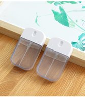 Liquid Soap Dispenser 1PC Portable Spray Bottle Protective Silicone Sleeve Alcohol Disinfectant Dispensed Carry-on Travel Household Goods