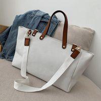White Handbag Canvas Tote Bag Shoulder Crossbody Bag Bags For Women Handbag Little Girls Fashion Bags