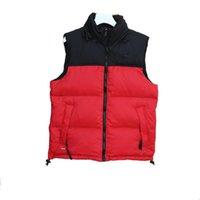 Designer Vests Mens Women Sleeveless Jacket Cotton Padded Mens Down Vest Winter Casual Coats Male Waistcoat Luxury