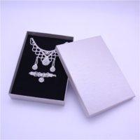 Ldyu مخصص قلادة القرط حلق التعبئة تغليف صناديق حقيبة حقيبة العالمي هدية صناديق مجوهرات بدلة مجوهرات كبيرة