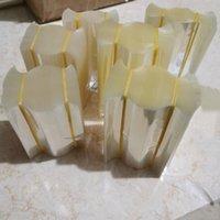 1000 шт. Тепловой термоусадочной трубки Прозрачная пленка пшеницы PVC упаковки для капельницы