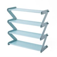 Clothing & Wardrobe Storage Stainless Steel Assembled Shoe Rack Multi-Layer High Heels Save Space Slipper Racks For Home Dormitory