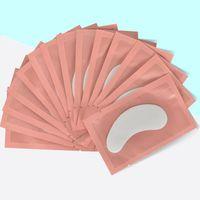 100 Paare unter Pads Papier Lick Free Gel Patches für Schlagverlängerung Falsche Wimpern Tipps Aufkleber Eye Lash Tools