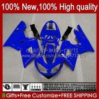 Bodywork Kit For Triumph Daytona 600 650 CC Daytona650 02-05 Cowling 104HC.53 blue full sale Daytona600 2002 2003 2004 2005 Bodys Daytona 600 02 03 04 05 Full Fairings