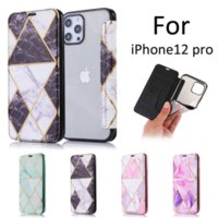 Marble stitching flip leather phone cases for iphone13 pro max 12 min 11 X XR XS 7 8 plus SE case cover