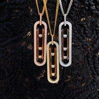 Высокое качество 2020 роскошных цепей овальные кулон ожерелье благородные аксессуары шеи ювелирные изделия для женщин подруга жена подарки
