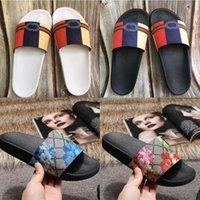 Mode dauerhaft Männer Frauen Slipper Sandalen Damen Flops Schwarz Weiß Rot Grüner Schuh 36-45