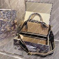 Filles Basket Sac Femme Sac à main Designers Femmes Sacs à bandoulière Sacs à main Luxurys Designers Sacs Sacs en osier Totes sac à dos sac à dos 21031802L