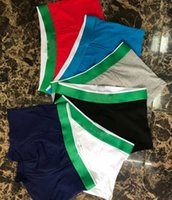 Men's Designer Boxer Brief Underwear Shorts Mens Vintage Sexy Underwear Casual Short Cotton Underpants