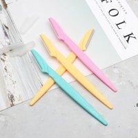 Couteaux de rasoir à sourcils Femmes Epilateur Source Source Source Tondeuse Rasage Rasage de cheveux 3 couleurs BWB5865