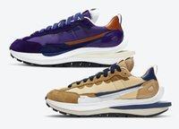 Vaporwaffle السمسم الأزرق الفراغ الأبيض الاطفال الجري مع صندوق LVD 3.0 الرجال النساء الأحذية الرياضية الحجم US4-US11